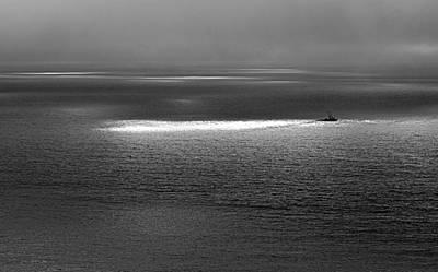 Photograph - The Guiding Light by AJ  Schibig