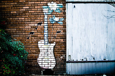 Photograph - The Guitar by Audreen Gieger