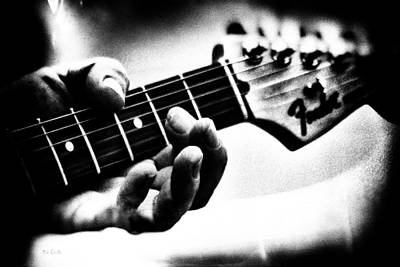 Cool Photograph - The Guitar by Bob Orsillo