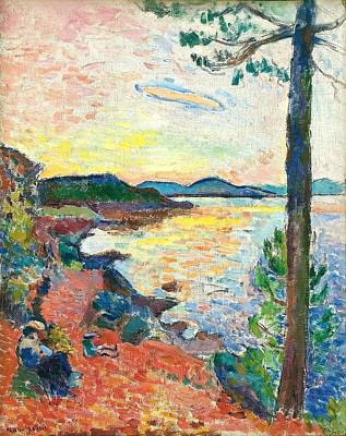 Painting - The Gulf Of Saint Tropez by Henri Matisse
