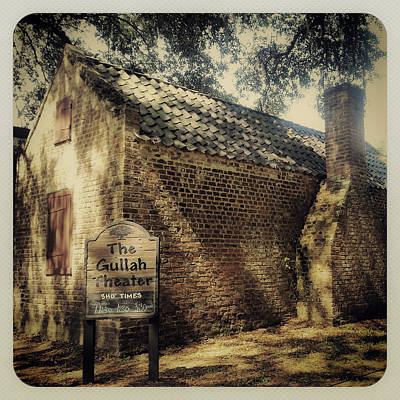Photograph - The Gullah Theater At Boone Hall by E Karl Braun