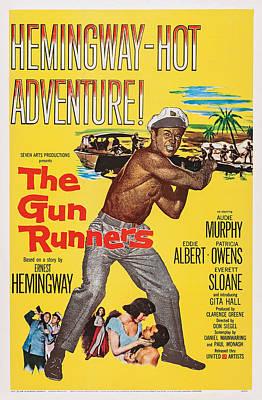 Films By Don Siegel Photograph - The Gun Runners, Us Poster Art, Audie by Everett