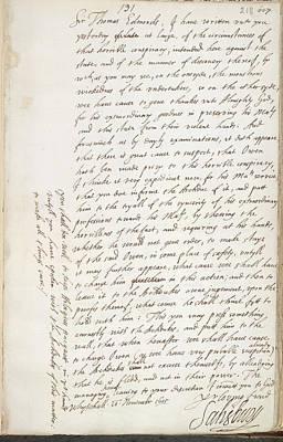 King James Photograph - The Gunpowder Plot by British Library