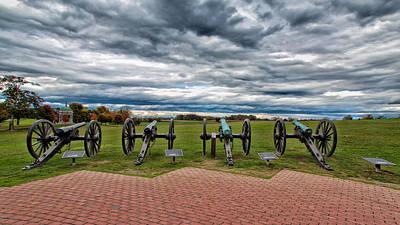 The Guns Of Antietam Art Print