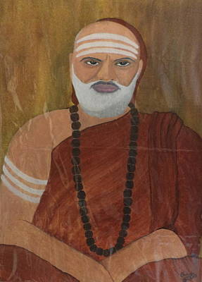 Painting - The Guru by Pratyasha Nithin