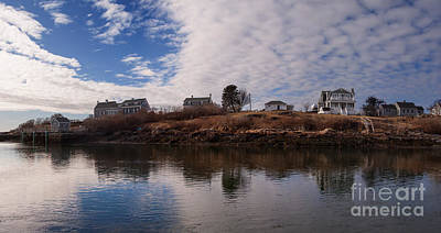 Photograph - The Gut At Biddefordpool Maine by David Bishop