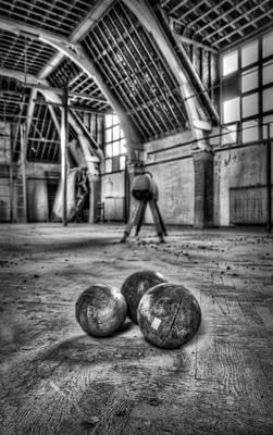 The Gym Art Print by Jason Green