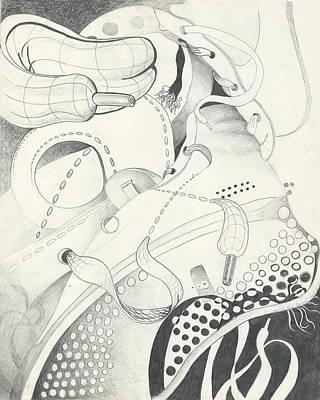 The Gym Shoe Shuffle Art Print