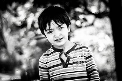 Photograph - The Gypsy Kid by Stwayne Keubrick