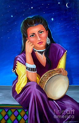 Painting - The Gypsy by Lora Duguay