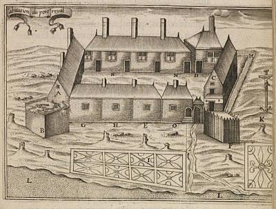The Habitation At Port-royal Print by British Library