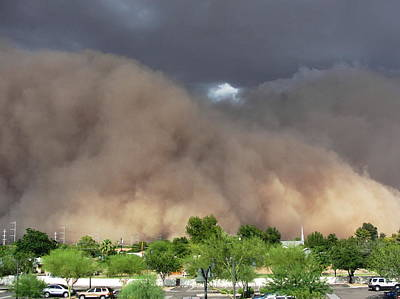 The Haboob Is Coming Art Print