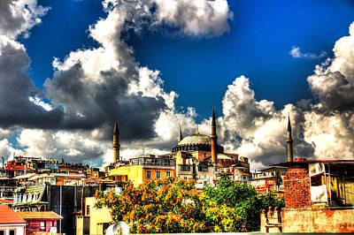 The Hagia Sophia Art Print by Mark Alexander