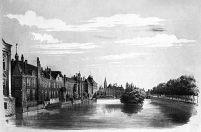 The Hague Canal Art Print by Granger