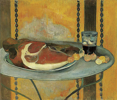 Painting - The Ham by Paul Gauguin