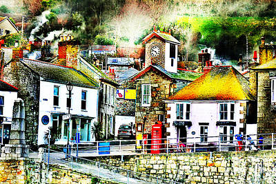 Photograph - The Hamlet Of Mousehole Cornwall by Terri Waters