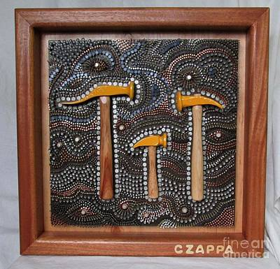 Czappa Sculpture - The Hammer Family  #130 by Bill Czappa
