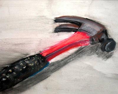 The Hammer Art Print by Ryan Burton