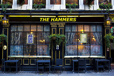 Photograph - The Hammers Pub by David Pyatt