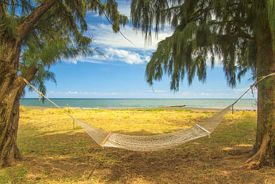 Photograph - The Hammock And The Beach by Roger Mullenhour