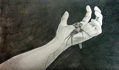 The Hand Of Jesus Original by Nicole Farley