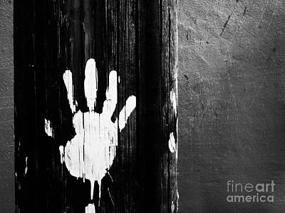 Photograph - The Hand Print by Tara Turner