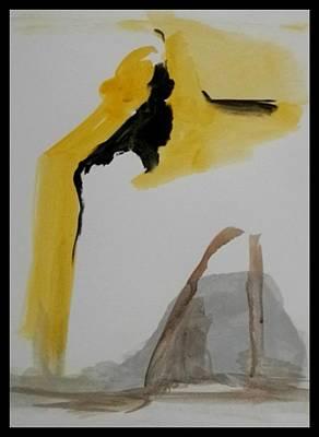 Painting - The Handbag by John L Campbell