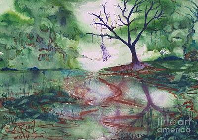 Painting - The Hanging Tree  by Reed Novotny