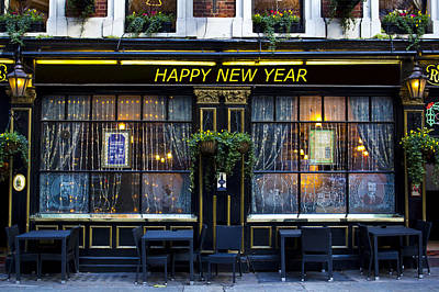 Photograph - The Happy New Year Pub by David Pyatt