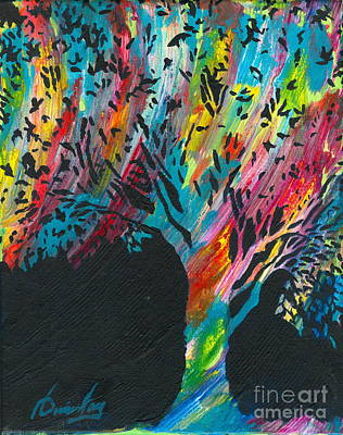 Painting - The Happy Tree by Denise Hoag