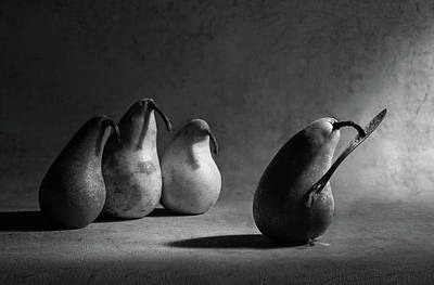 Pear Wall Art - Photograph - The Harakiri by Victoria Ivanova