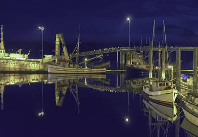 The Harbor At 1030pm Art Print