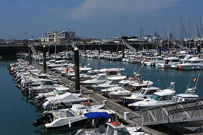 Fecamp Photograph - The Harbour by Aidan Moran