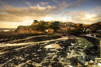 Cliff Lee Photograph - The Harbour At Lee  by Rob Hawkins