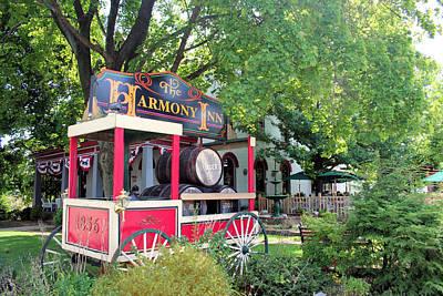 Photograph - The Harmony Inn by Gordon Elwell