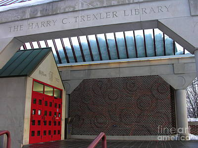 Photograph - The Harry C. Trexler Memorial Library by Jacqueline M Lewis