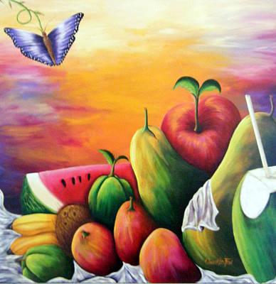 The Harvest 1 Art Print