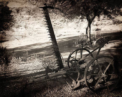 Photograph - The Harvester by Dale Simmons