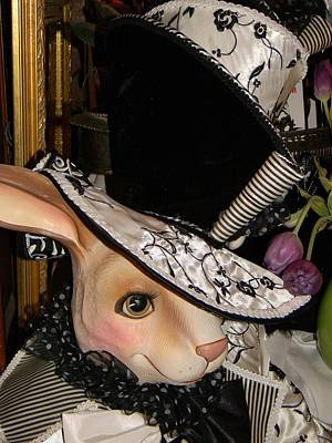 Art Print featuring the photograph The Hat by Jean Goodwin Brooks