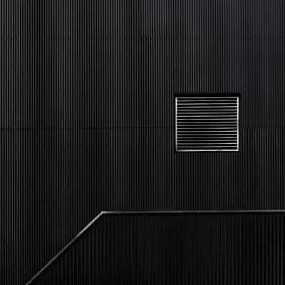 Blinds Photograph - The Hatch by Gilbert Claes
