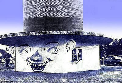 Painting - The Hatomat Drive-in Restaurant Near Warren Oh Around 1950 by Dwight Goss