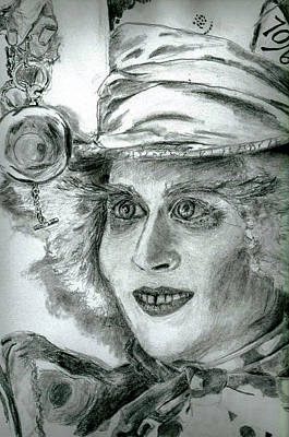 The Hatter Art Print by Brooke Spoelman