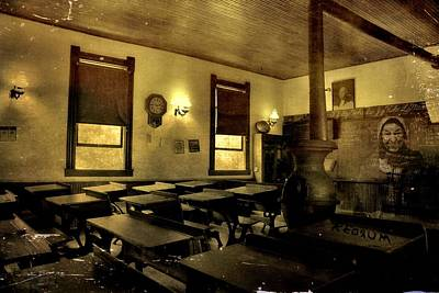 Horror Movies Mixed Media - The Haunted Classroom by Dan Sproul