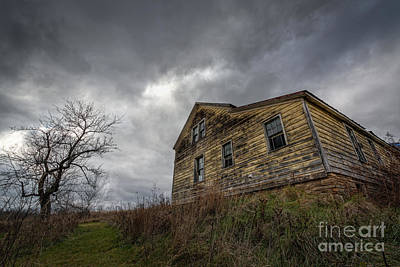 The Haunted Color Original by Michael Ver Sprill