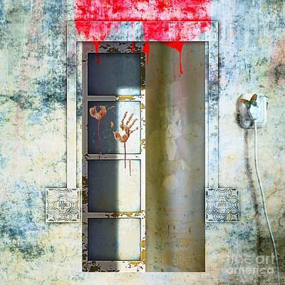 Digital Art - The Haunted by Liane Wright