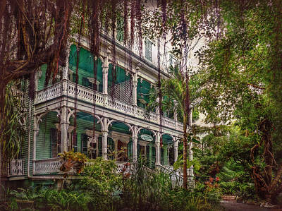 Photograph - The Haunted Mansion  by Hanny Heim