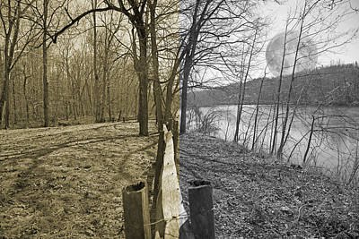 Virginia Photograph - The Haunting Place by Betsy Knapp
