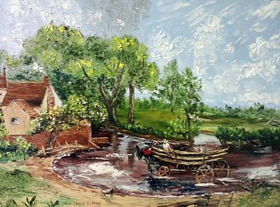 The Hay Wain Reproduction Original by Hamid Karimi