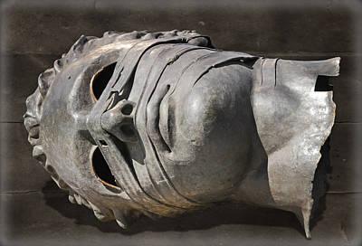 The Head Of Eros Art Print by Steven  Michael