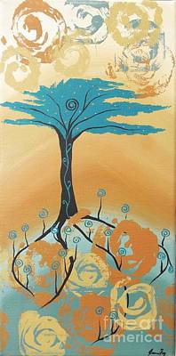Painting - The Healing Tree by Jean Fry